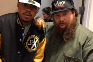Action Bronson & Chance The Rapper @Late Show