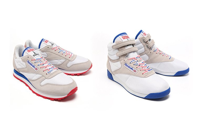 Reebok Collection 2015 Cyclones Printemps X Classic Kitsuné Maison vN80mOnw