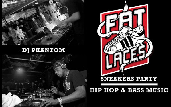 Fat Laces Sneakers Party